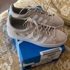 Classic Adidas Suede Sneakers
